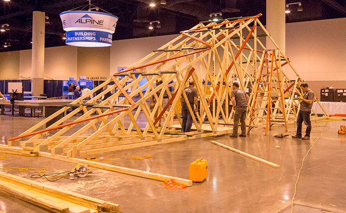 50 Truss Bracing Demo Focuses On Practicality For Framers