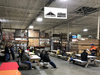 Hull Associates holds a quarterly subcontractor safety lunch