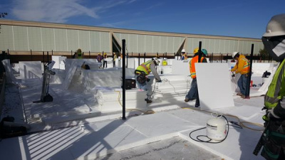 ACH Polystyrene Molded to Solve Weber State Roof Challenge