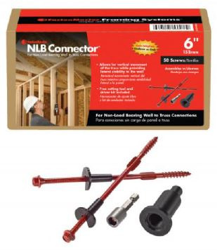 Fastenmaster Introduces Non Load Bearing Wall Connector