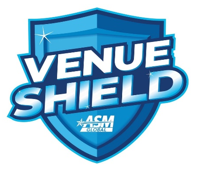 Venue shield logo
