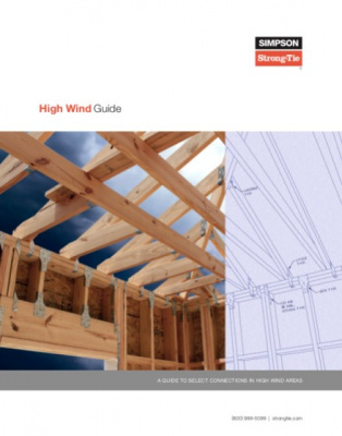 Simpson Strong-Tie construction guide to protecting against high-wind forces
