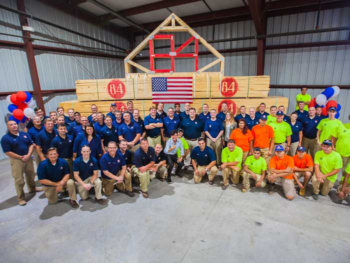 84 Lumber Recognized As A Top Workplace In PA