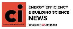 Energy Efficiency and Building Science News Email Header