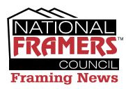 National Framers Council Framing News Email Header