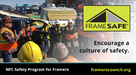 Encourage a culture of safety with an NFC Safety Program with Frame Safe