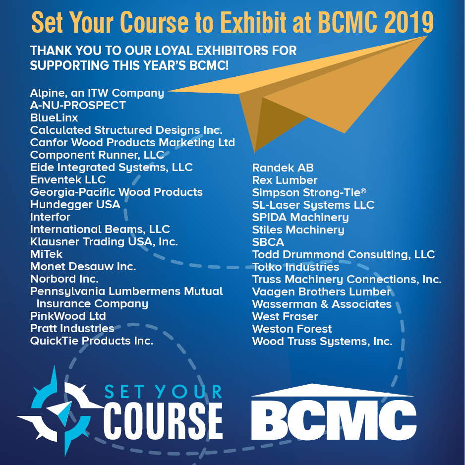 Set Your Course' for BCMC 2019 in Columbus   SBC Magazine