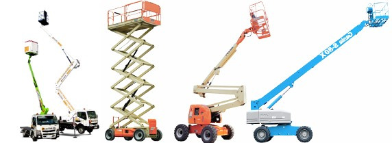 Examples of mobile elevating work platforms