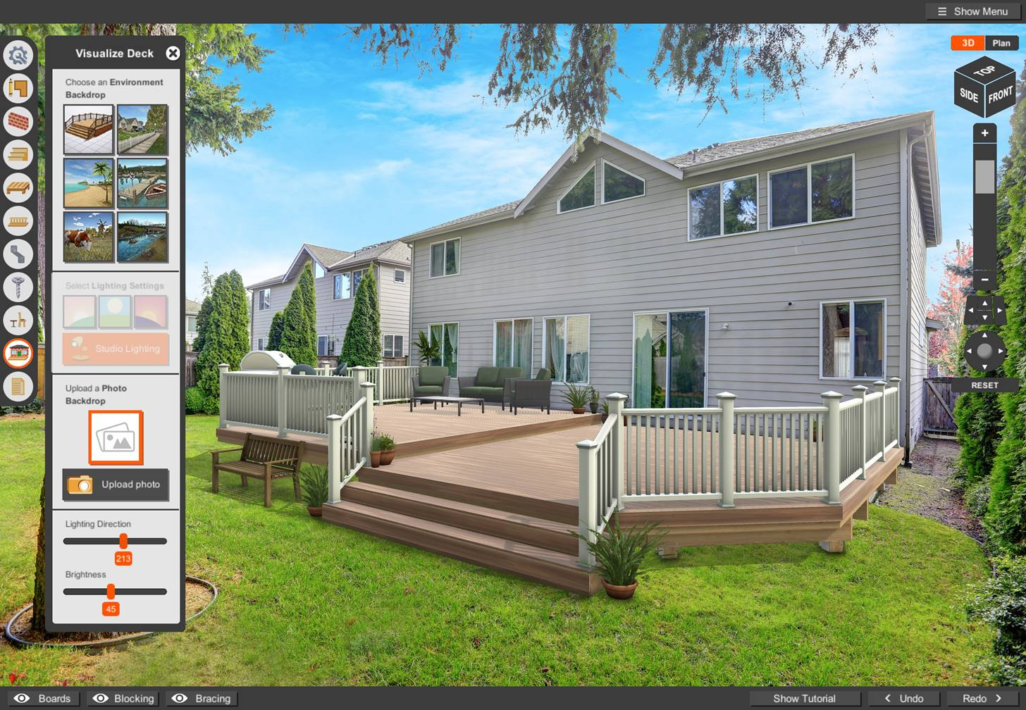 Simpson Strong Tie Launches Enhanced Online Deck Planner Software Center For Deck Builders Homeowners Diyers Sbc Magazine