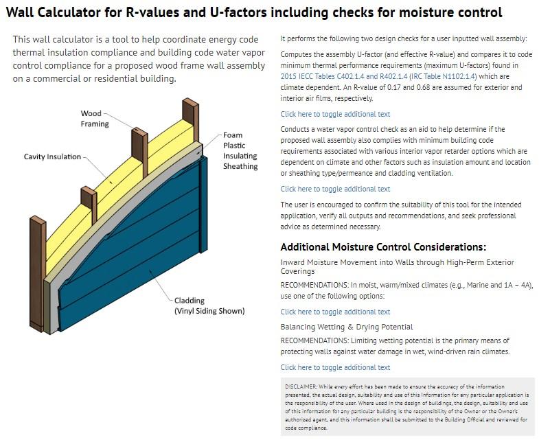 Wood Framed Wall Insulation Calculator Explained | SBC Magazine